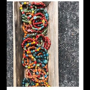 FREE Clay Bracelet 1 w/ every order over $50 NEW